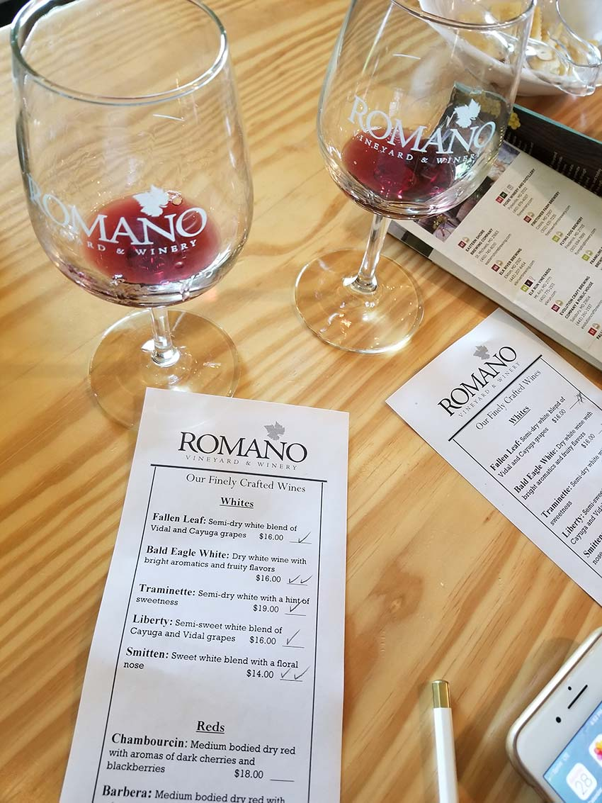 Romano Vineyard and Winery - Wineries in Maryland